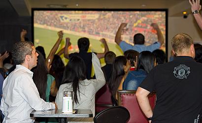 The Sportsman Bangkok - HD projector