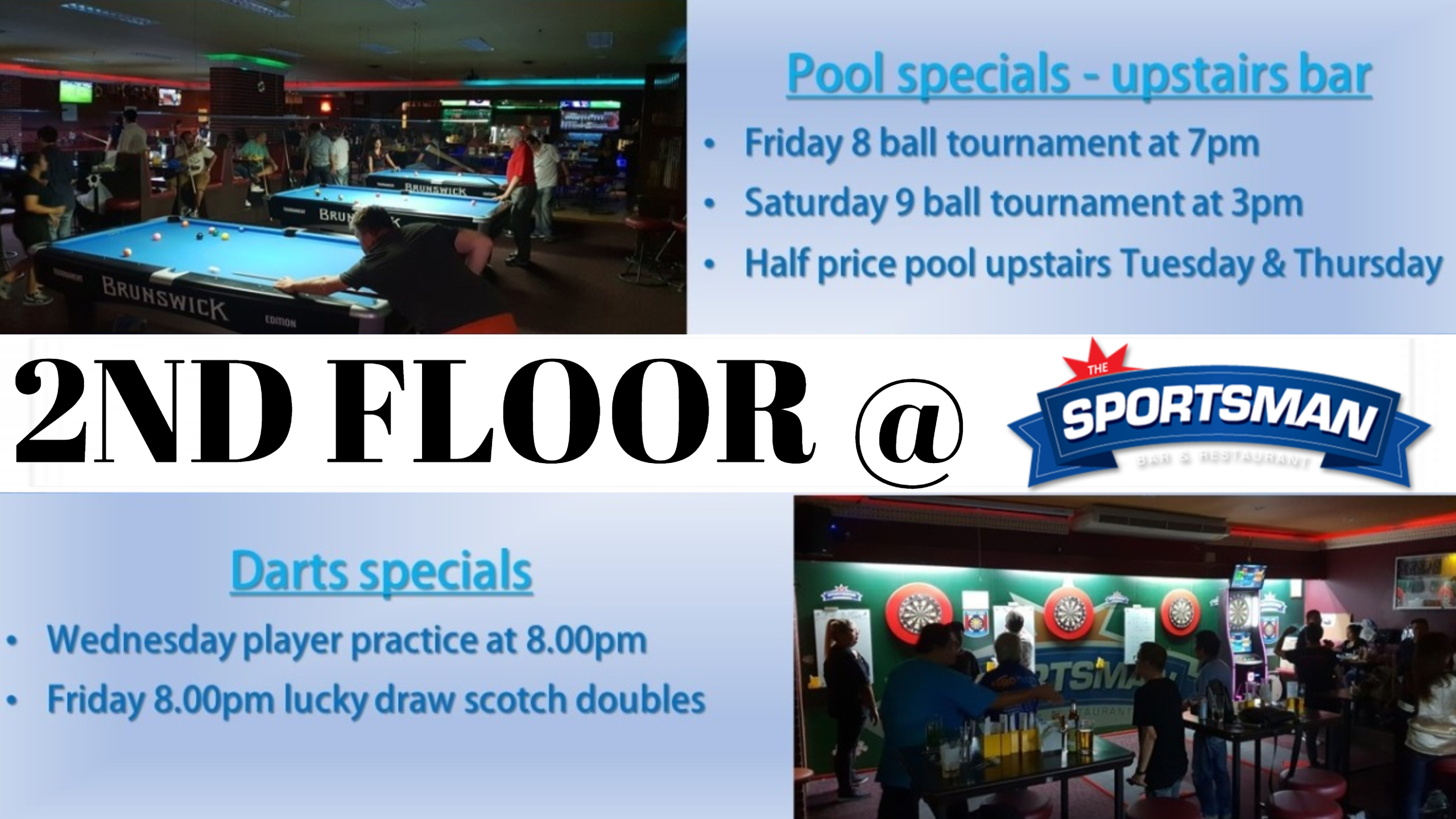 Pool   The Sportsman Bar and Restaurant