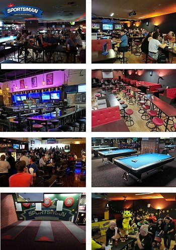 Sports bar Bangkok